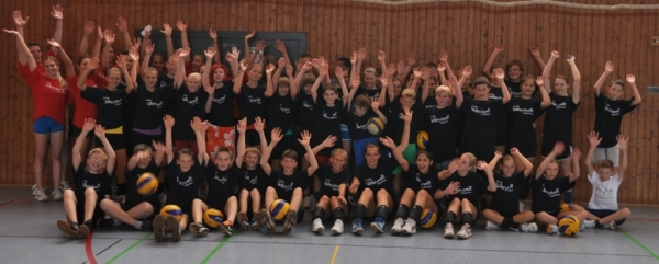 Esslinger Volleyball Trainingscamp 2013