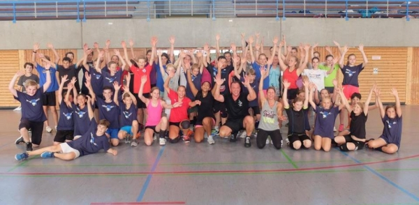Esslinger Volleyball Trainingscamp 2016