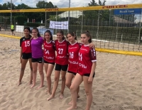 U15-Mädels bei U15-Beach-WM im Einsatz